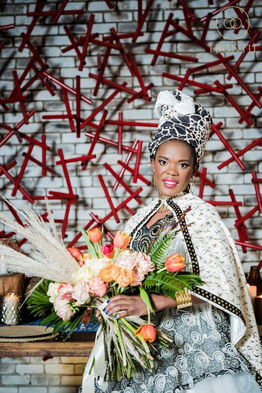 african wedding bouquet