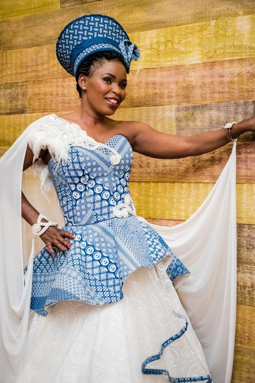 unique shweshwe dress