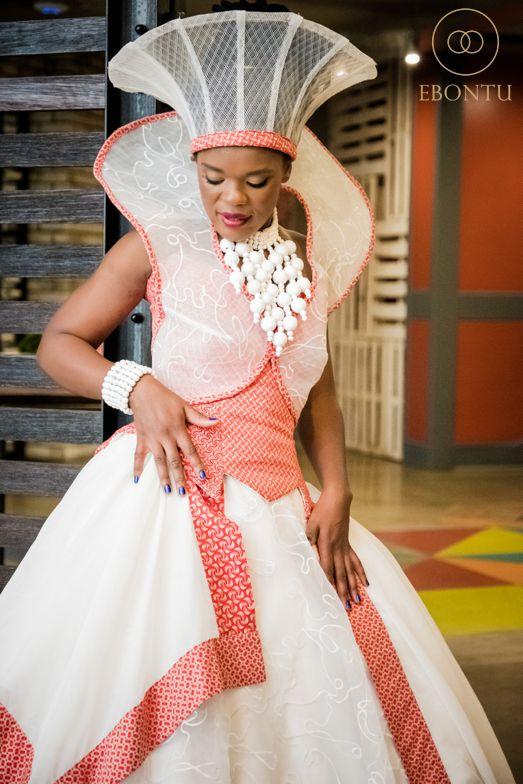 stunning african wedding dress