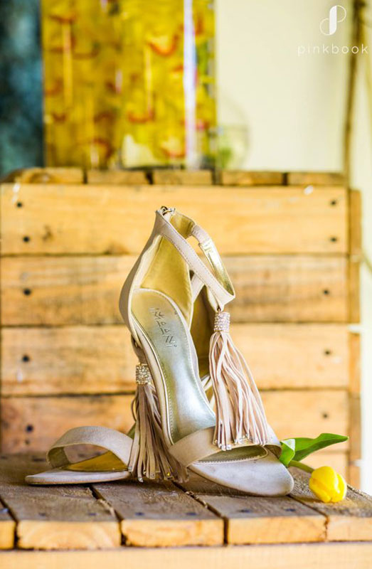 beige wedding shoe ideas