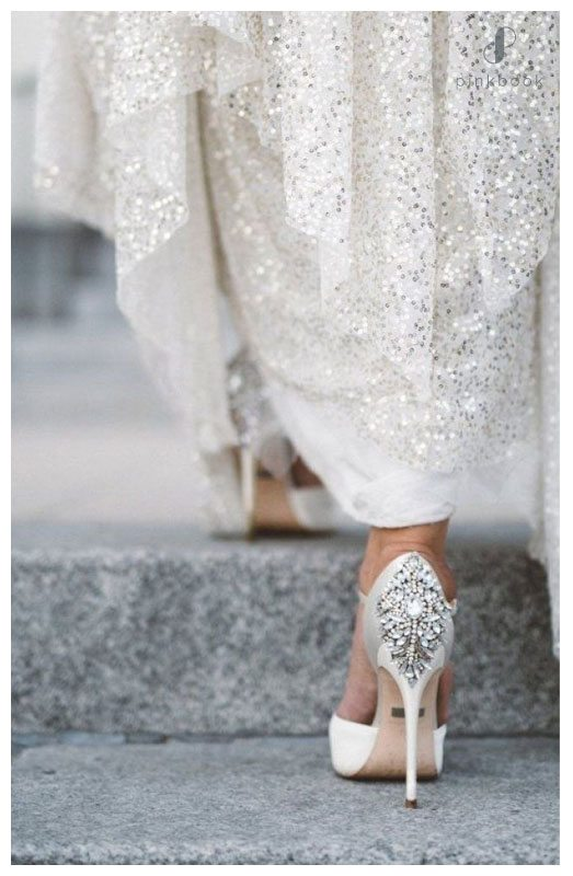 Glitter Gem shoes