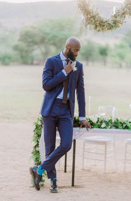 blue grooms suit ideas