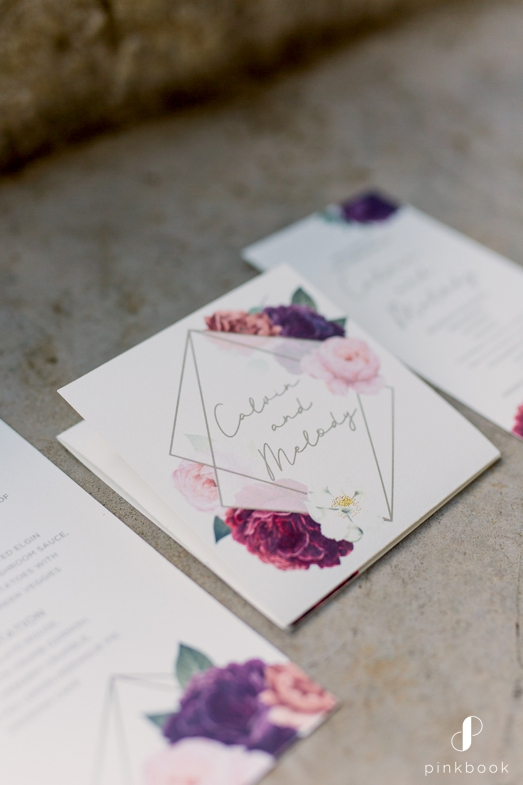 Poppery Paperie Wedding Invitations
