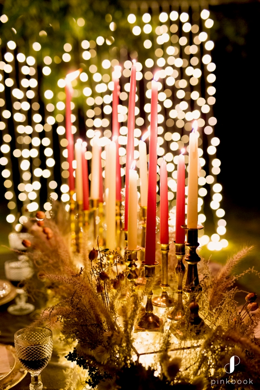 wedding candles and lights