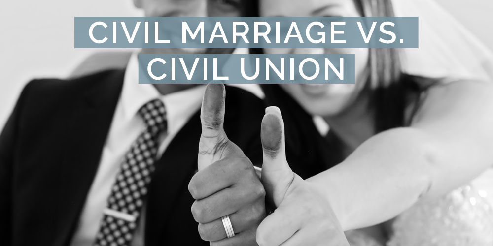 civil marriage vs civil union