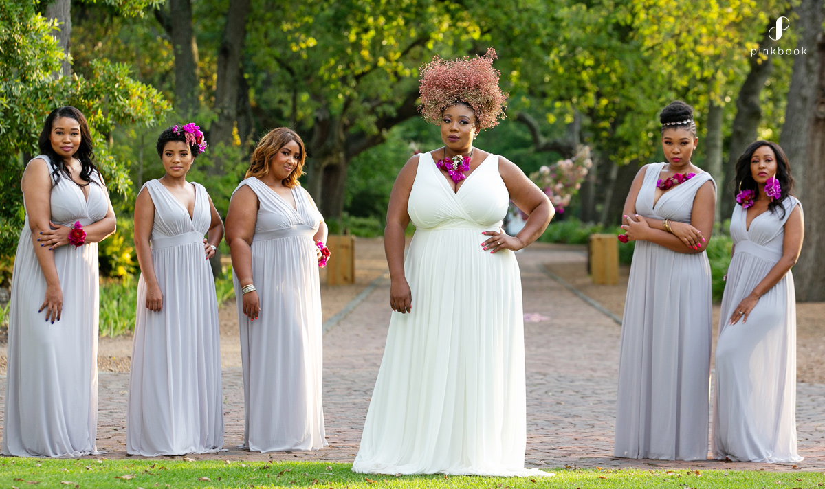 South African bride squad