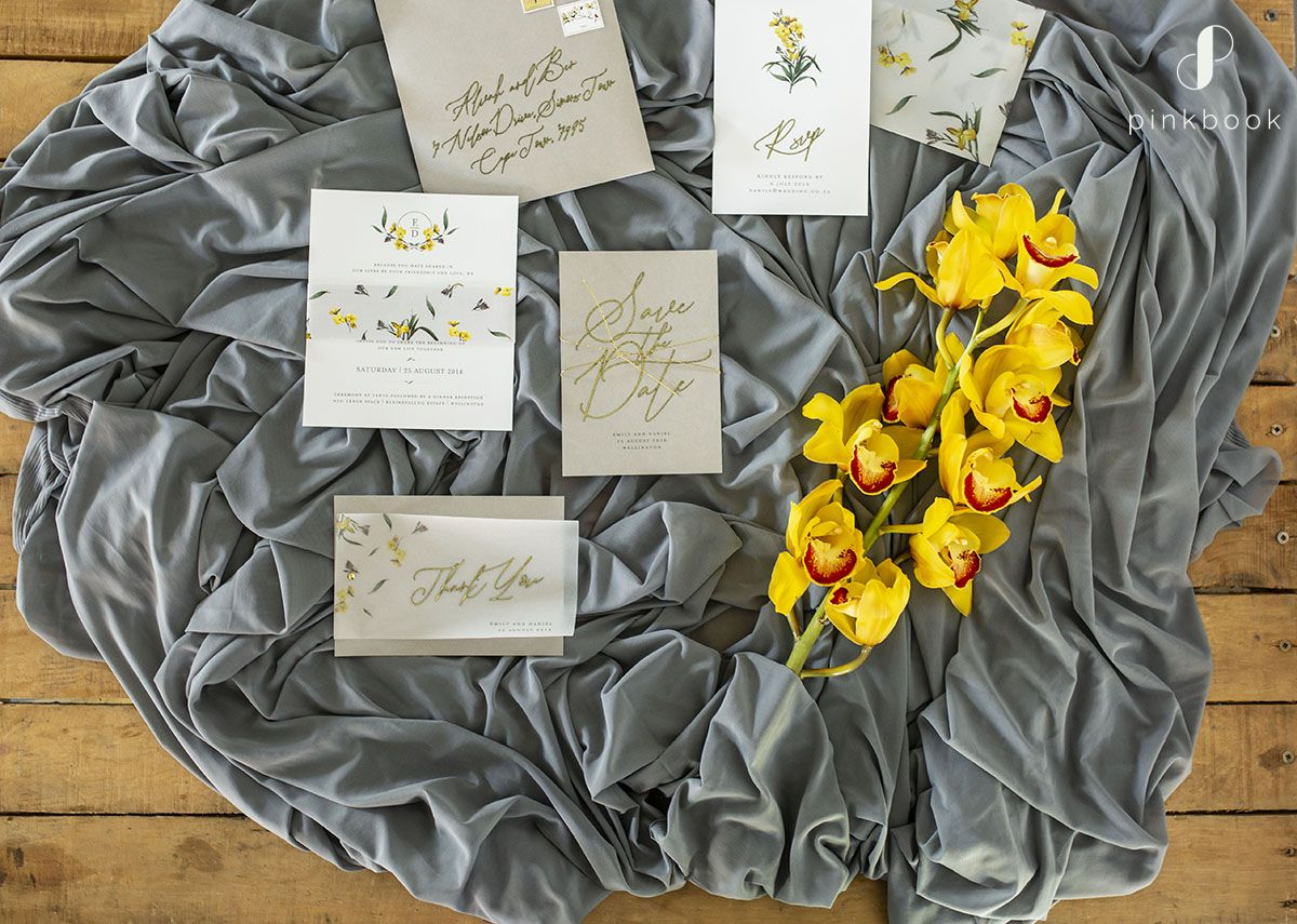 golden wedding inspiration