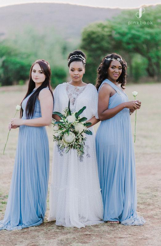 greek wedding bridesmaids