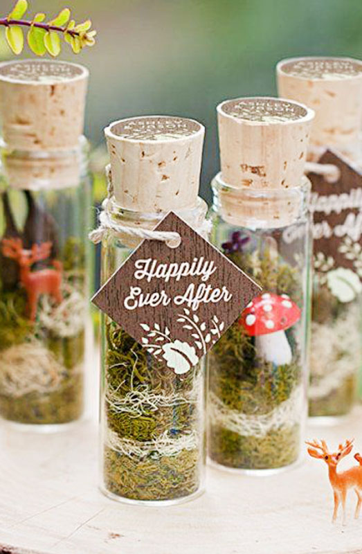happily ever after bottled wedding gifts