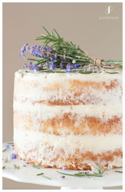 Honey Lavender Wedding cake flavours