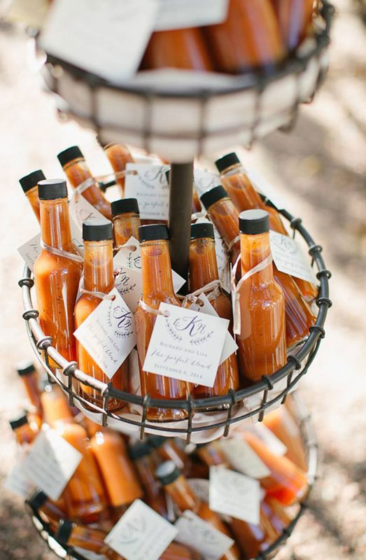 hot sauce bottle gifts