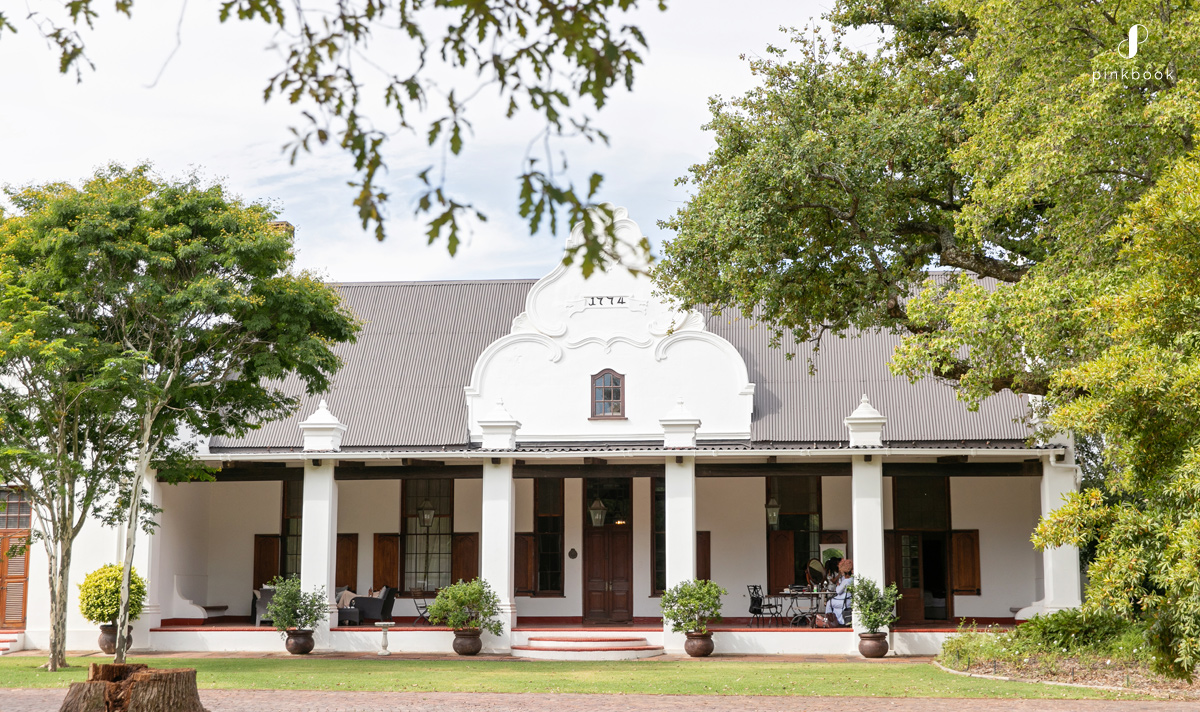 nootigedacht wedding venue stellenbosch