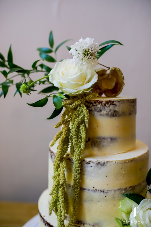 organic wedding cake inspiration