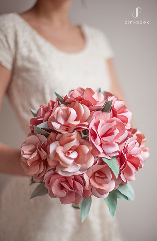 paper wedding flowers ideas