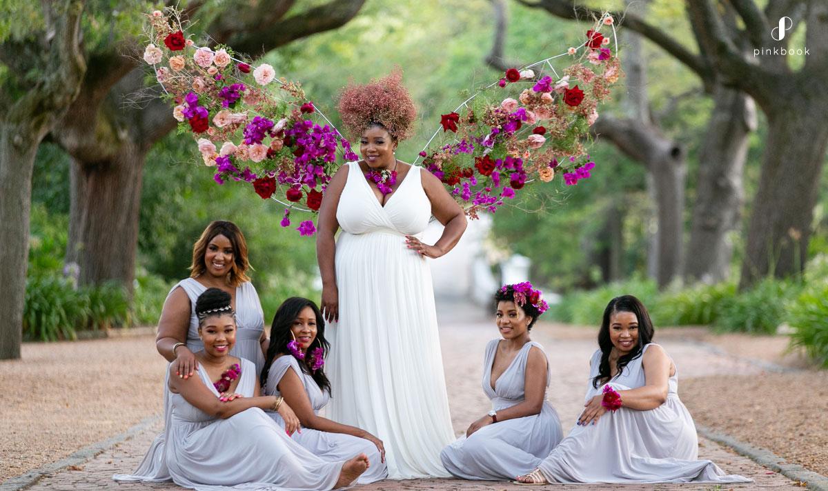 precious bridesmaids photoshoot