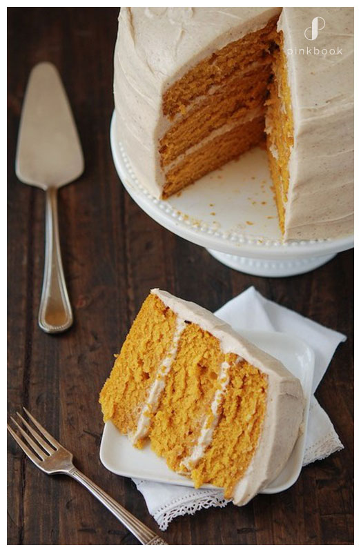 Pumpkin Wedding cake flavours