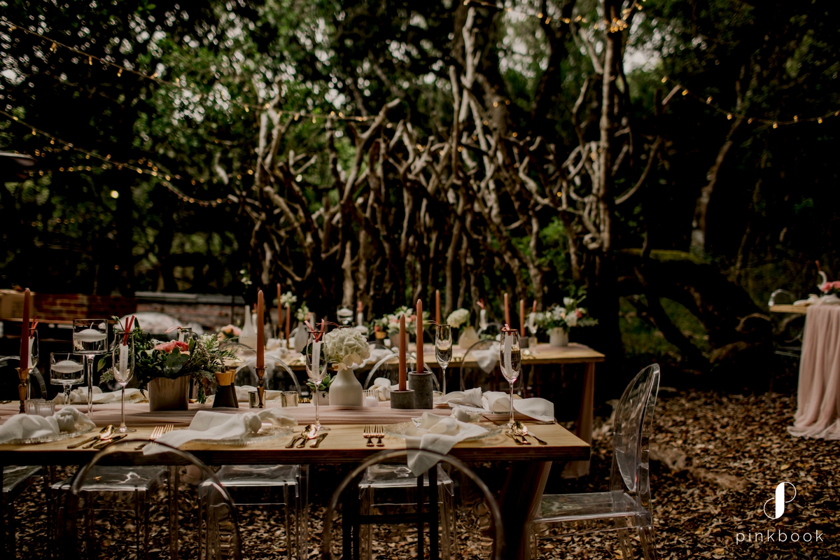 grootbos wedding in milkwood forest