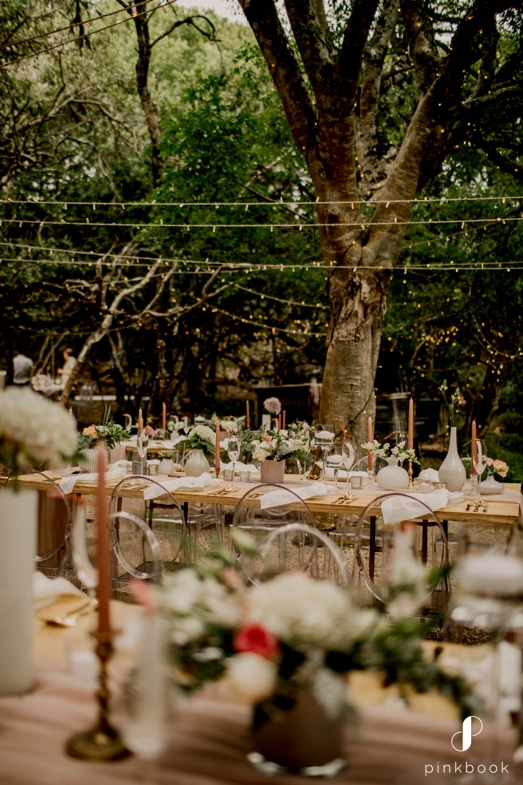 forest wedding at grootbos