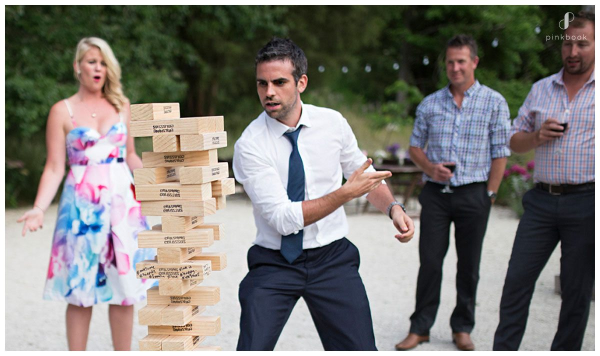 wedding games giant jenga