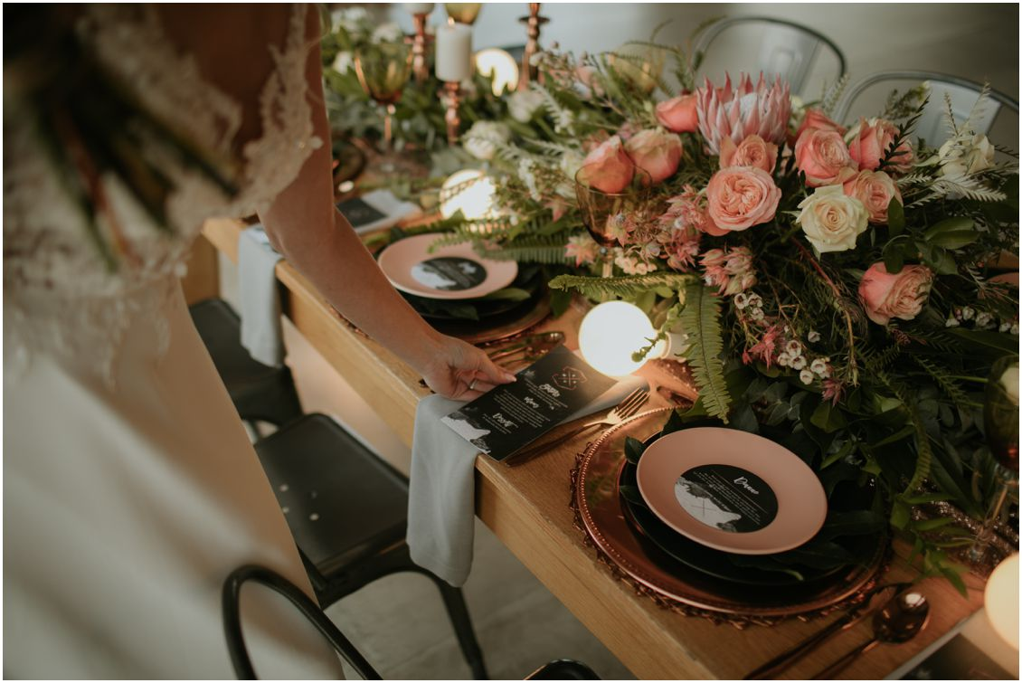 Industrial Wedding Decor Inspiration