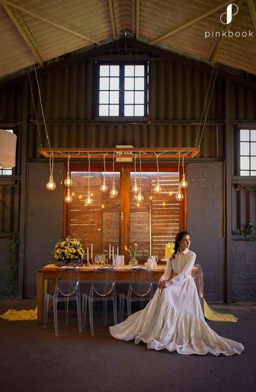 yellow wedding decor inspiration