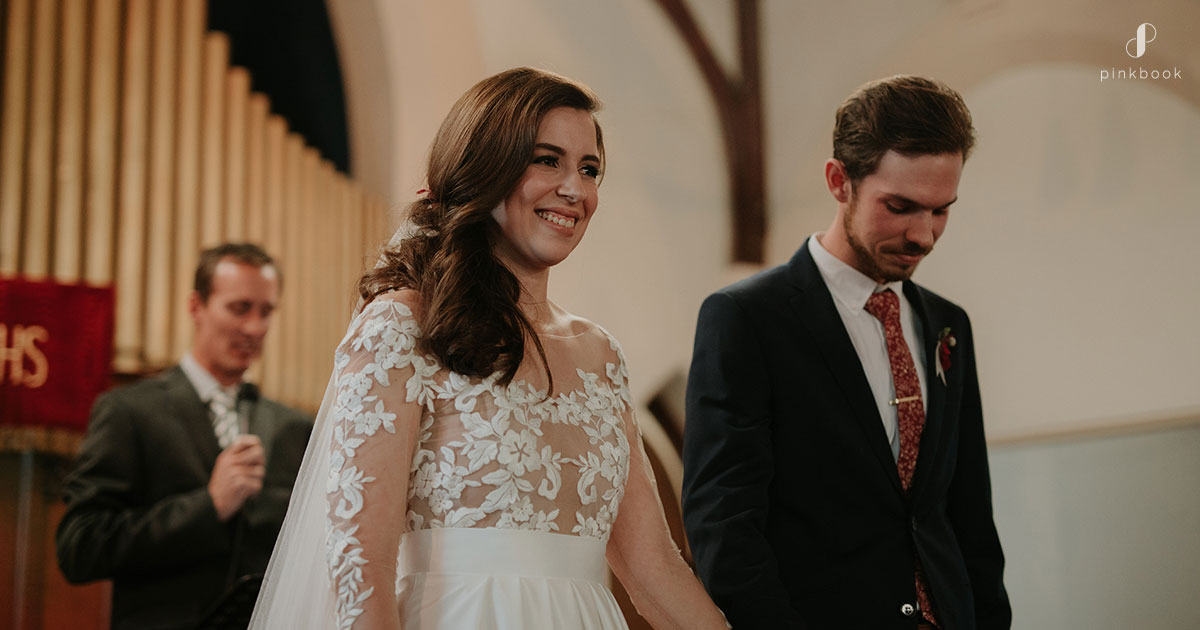 evangelical church wedding ceremony