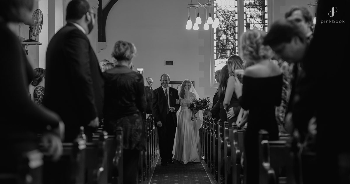 Church wedding ceremony in Cape Town