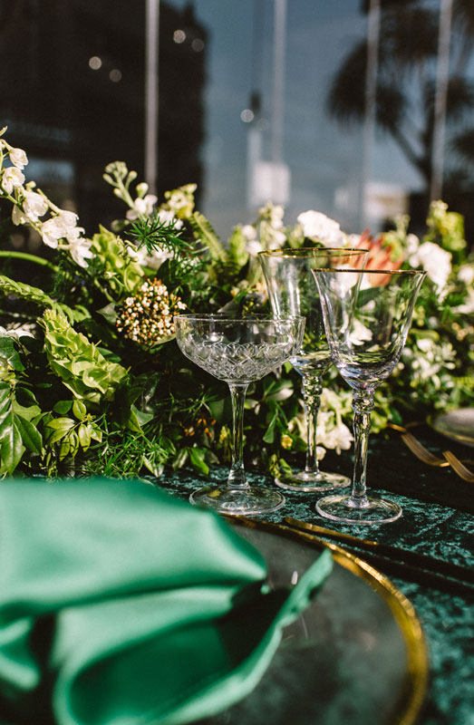 green wedding decor ideas