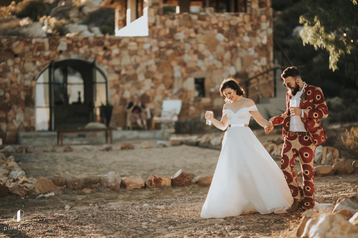 boho wedding in south africa