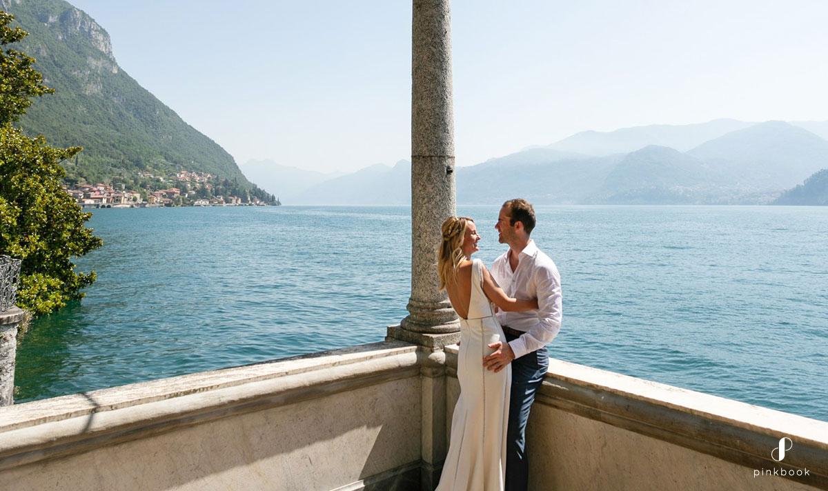 lake como wedding photos