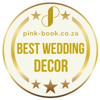 best wedding decor gold