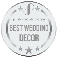 best wedding decor silver