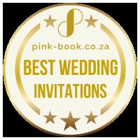 best wedding invitations gold