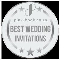 best wedding invitations silver