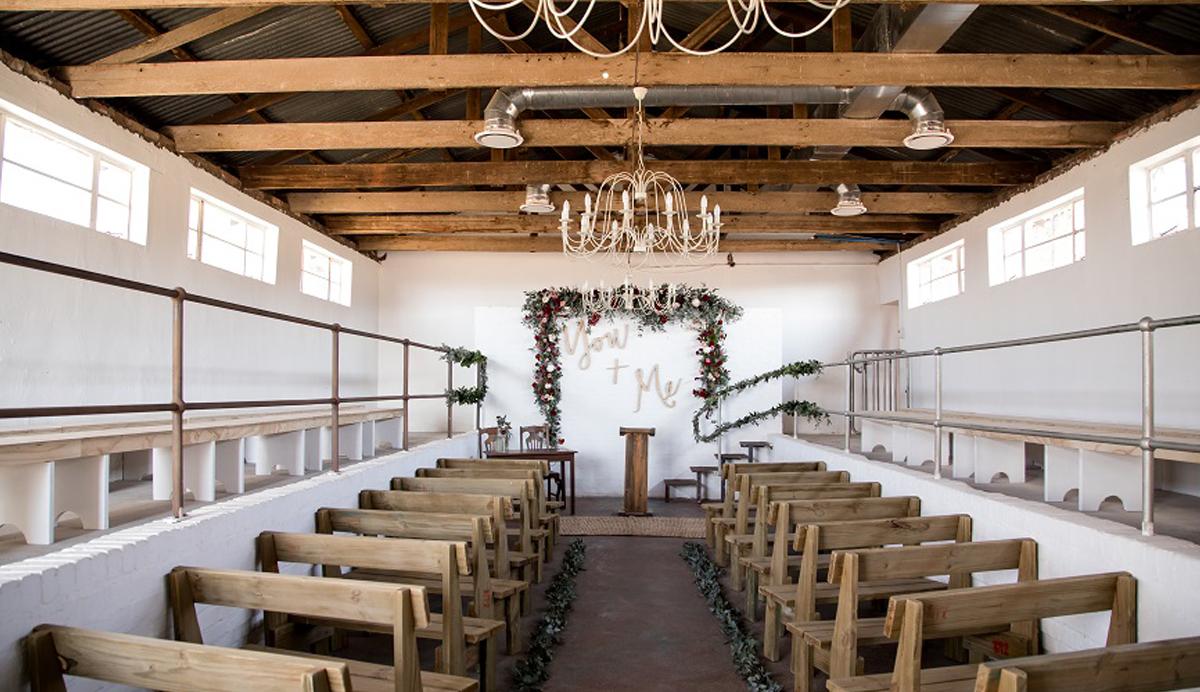stone cellar wedding chapel