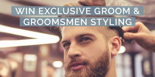 CLOSED - WIN  Mens Wedding Grooming worth R4000
