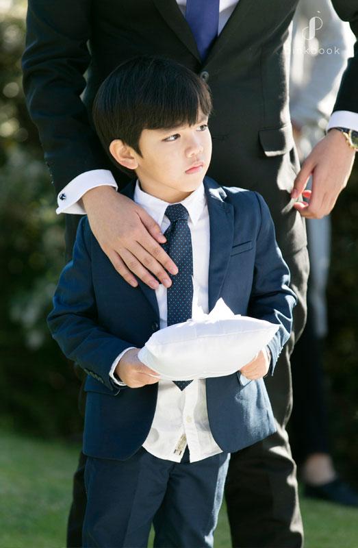 ring bearer kids at weddings