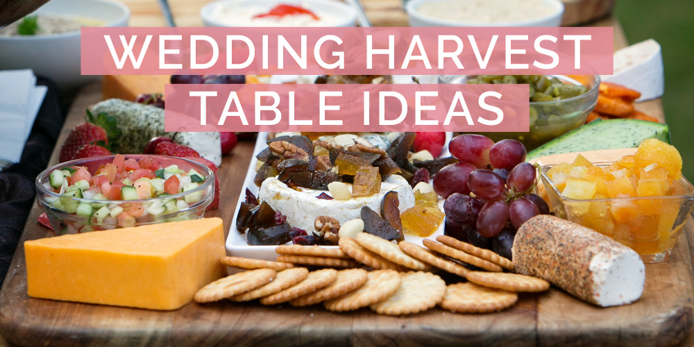 Wedding Harvest Table Ideas