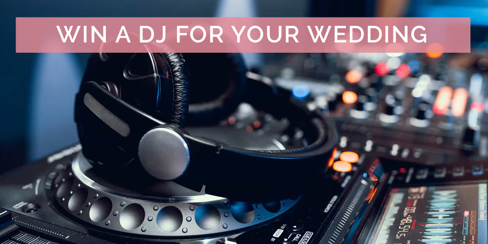 WIN An Amazing DJ For Your Wedding Day