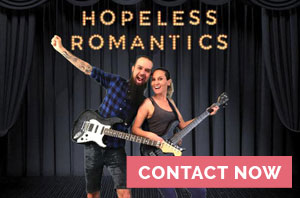 hopeless romantic live band