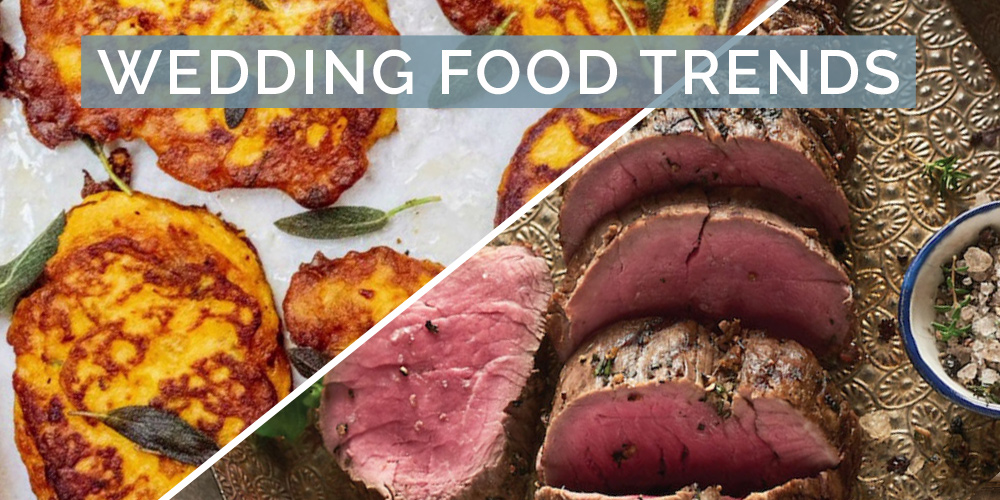 wedding food trends
