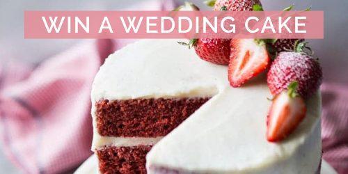 Win a Wedding Cake worth R4200