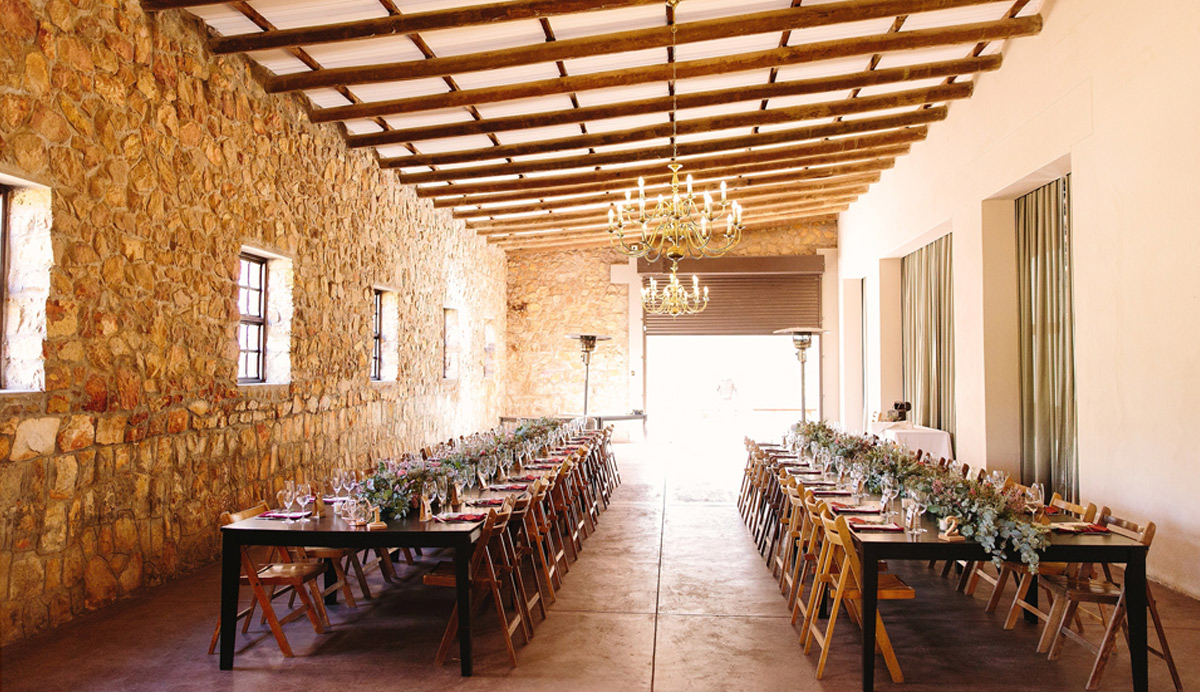 elandskloof farm wedding venue