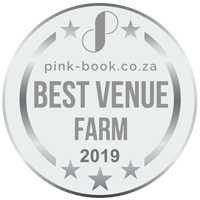 Best Farm Wedding Venue 2019 Award