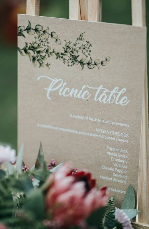peony and pence wedding stationery
