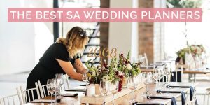 The Best SA Wedding Planners