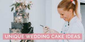 Unique Wedding Cake Ideas by Turquoise Squirrel