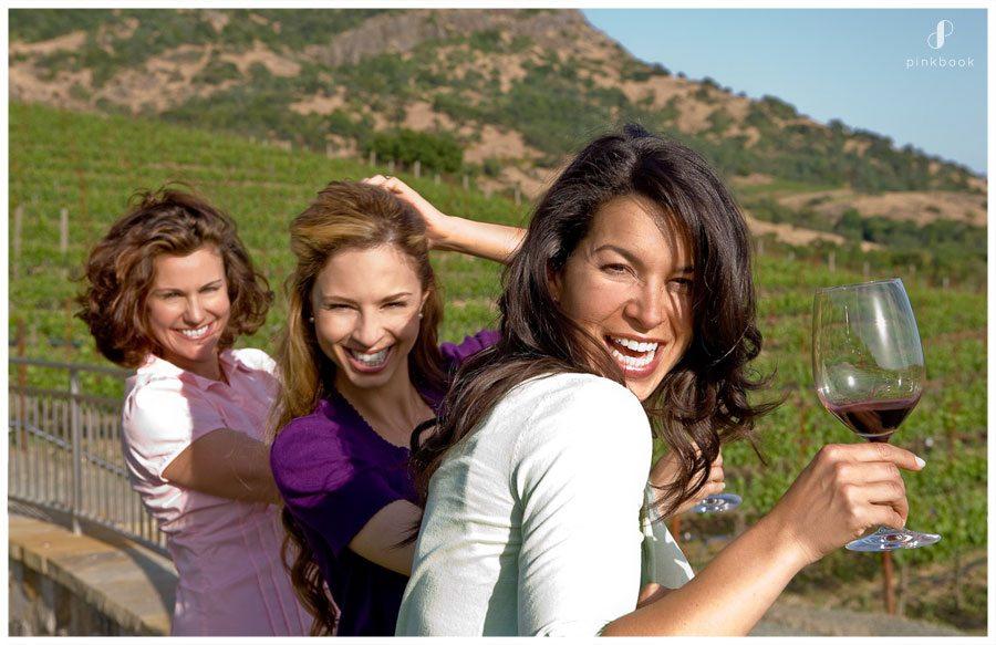wine tasting ladies