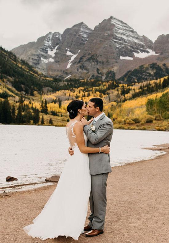 Wedding Maroon Bells, Colorado