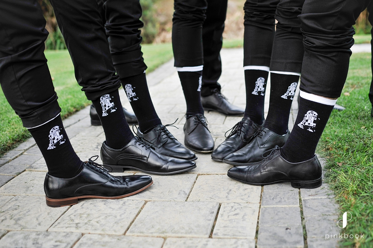 groomsmen star wars socks